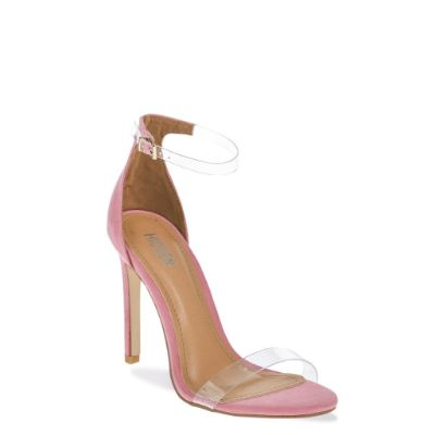 Barely There Multi Strap Heel