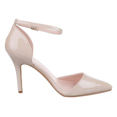 Beige Single Strap Shoe